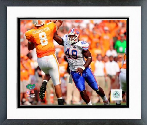 Florida Gators Jermaine Cunningham 2008 Action Framed Photo
