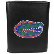 Florida Gators Large Logo Leather Tri-fold Wallet