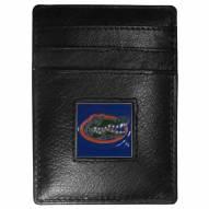 Florida Gators Leather Money Clip/Cardholder in Gift Box