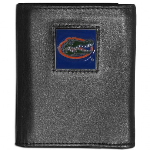 Florida Gators Leather Tri-fold Wallet