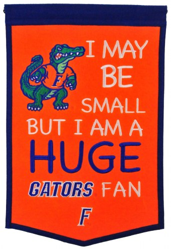Florida Gators Lil Fan Traditions Banner
