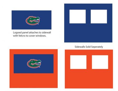 Florida Gators Logo Canopy Sidewall Panel (Attaches to Window Sidewall)