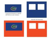 Florida Gators Logo Canopy Sidewall Panel (Attaches to Window Sidewall)