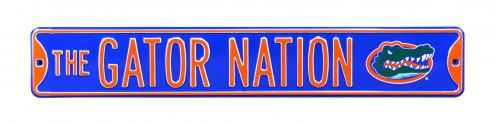 Florida Gators Nation Street Sign