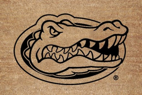 Florida Gators Flocked Coir Fiber Door Mat