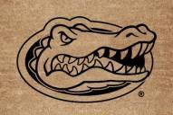Florida Gators Flocked Coir Fiber Door Mat
