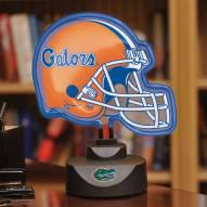 Florida Gators Neon Helmet Desk Lamp