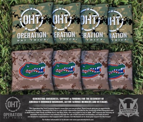Florida Gators Operation Hat Trick Cornhole Bag Set