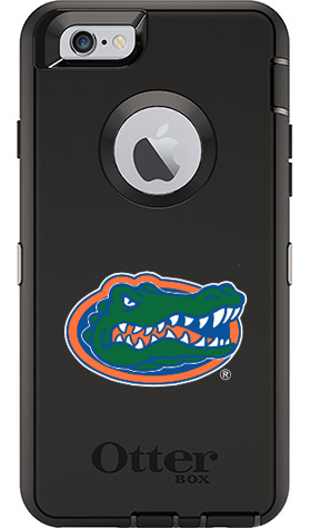 Florida Gators OtterBox iPhone 6/6s Defender Black Case