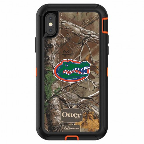 Florida Gators OtterBox iPhone X Defender Realtree Camo Case