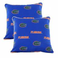 Florida Gators Outdoor Decorative Pillow Set