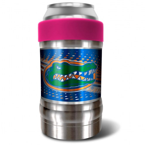 Florida Gators Pink 12 oz. Locker Vacuum Insulated Can Holder