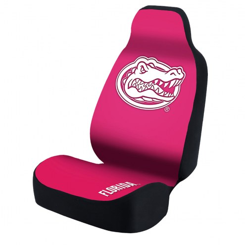 Florida Gators Pink Universal Bucket Car Seat Cover