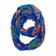 Florida Gators Sheer Infinity Scarf