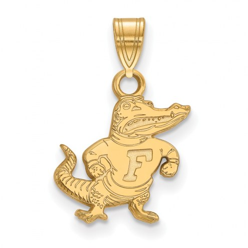Florida Gators Sterling Silver Gold Plated Small Pendant
