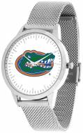 Florida Gators Silver Mesh Statement Watch