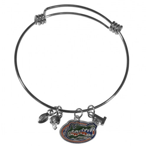 Florida Gators Charm Bangle Bracelet