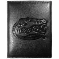Florida Gators Embossed Leather Tri-fold Wallet