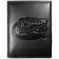 Florida Gators Embossed Leather Tri-fold Wallet