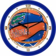 Florida Gators Slam Dunk Wall Clock