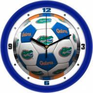 Florida Gators Soccer Wall Clock