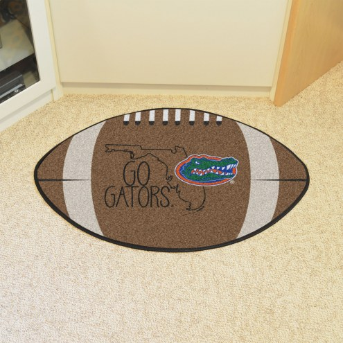 Florida Gators Southern Style Football Floor Mat