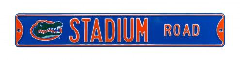 Florida Gators Stadium Street Sign
