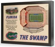 Florida Gators 25-Layer StadiumViews 3D Wall Art