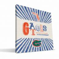 Florida Gators State Canvas Print