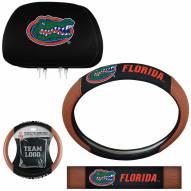 Florida Gators Steering Wheel & Headrest Cover Set