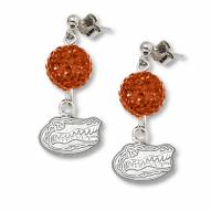 Florida Gators Sterling Silver Crystal Ovation Earrings