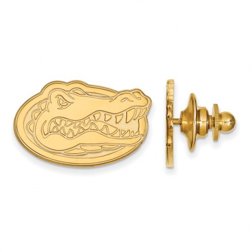 Florida Gators Sterling Silver Gold Plated Lapel Pin