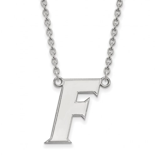 Florida Gators Sterling Silver Large Pendant Necklace