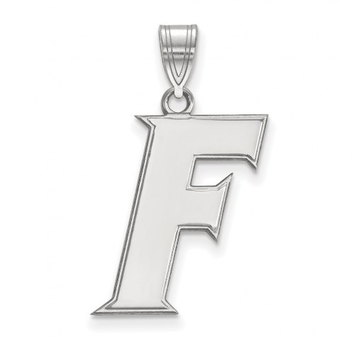 Florida Gators Sterling Silver Large Pendant