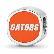 Florida Gators Sterling Silver Logo Bead