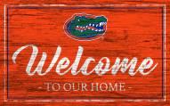 Florida Gators Team Color Welcome Sign