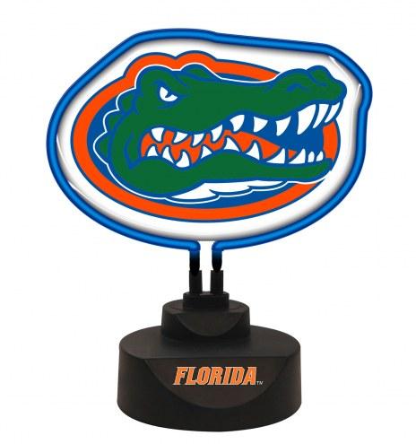 Florida Gators Team Logo Neon Light