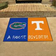 Florida Gators/Tennessee Volunteers House Divided Mat