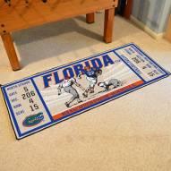 Florida Gators Ticket Runner Rug