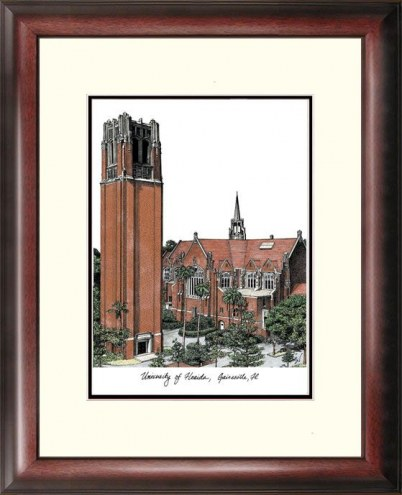 Florida Gators Alumnus Framed Lithograph