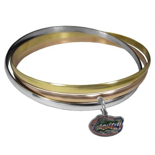 Florida Gators Tri-color Bangle Bracelet