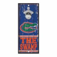 Florida Gators Wood Bottle Opener