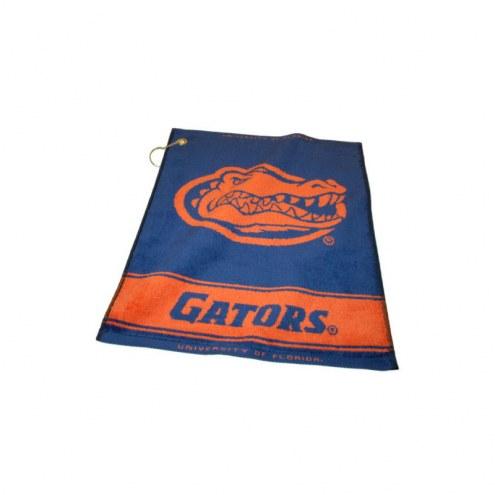 Florida Gators Woven Golf Towel