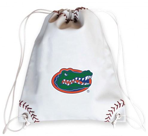 Florida Gators Baseball Drawstring Bag