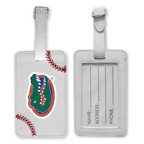 Florida Gators Baseball Luggage Tag
