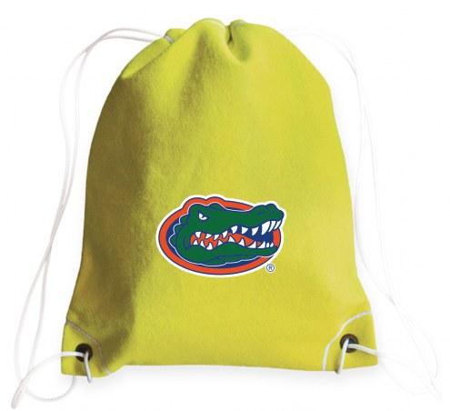 Florida Gators Tennis Drawstring Bag