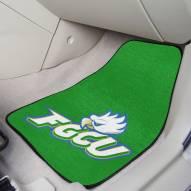Florida Gulf Coast Eagles 2-Piece Carpet Car Mats