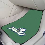 Florida Gulf Coast Eagles 2-Piece Carpet Car Mats