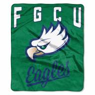 Florida Gulf Coast Eagles Alumni Raschel Throw Blanket