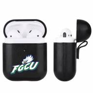Florida Gulf Coast Eagles Fan Brander Apple Air Pods Leather Case